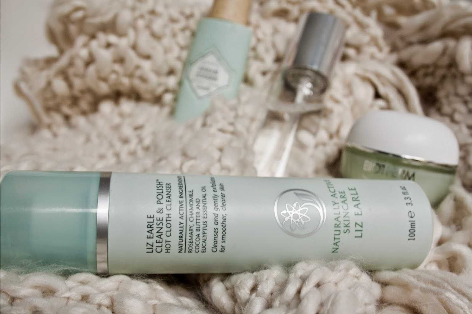 Liz Earle. Hot cloth cleanser.
