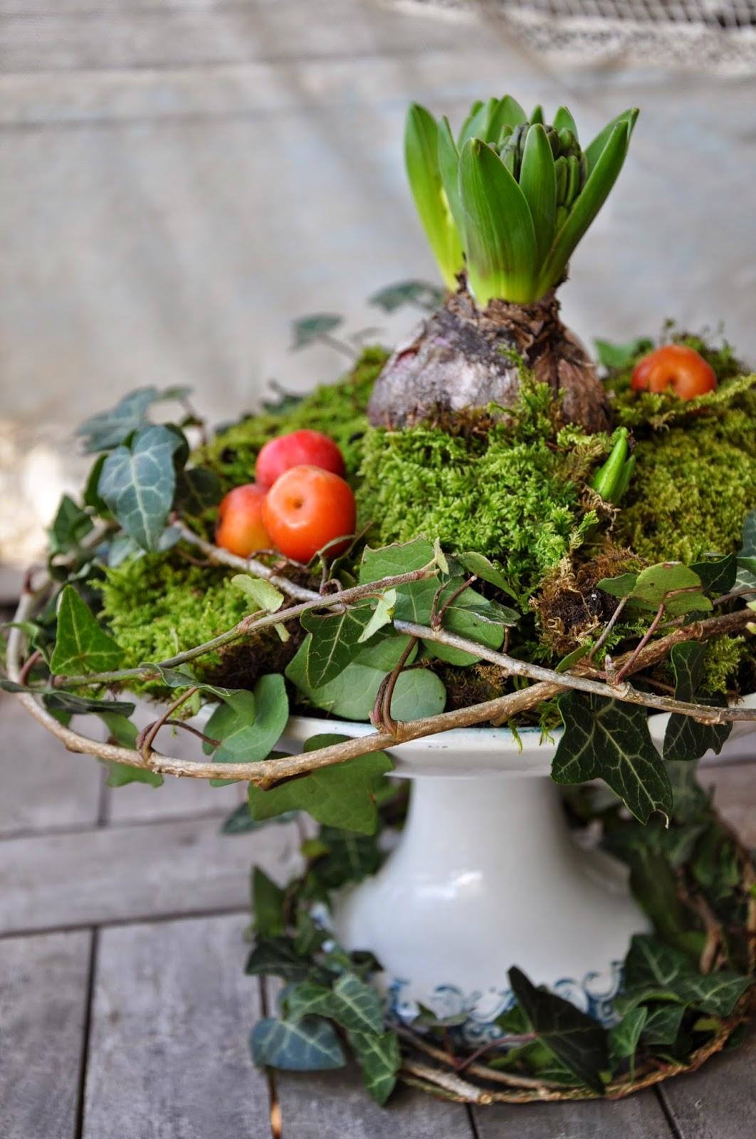 Il giardino del brocante decorare la tavola di natale for Decorare la camera per natale