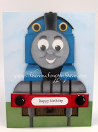 Thomas The Train Card Tutorial