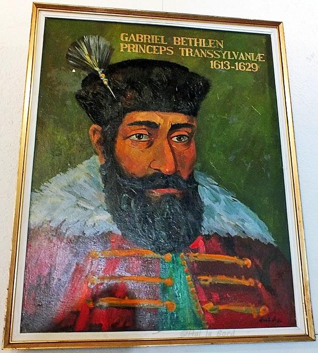 tablou portret gabriel bethlen castel lazarea