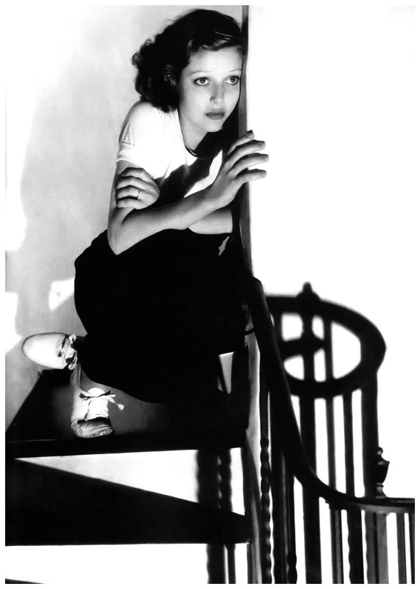 Loretta Young, Edward Steichen. Fotografía | Photography