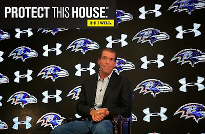 Under Armour Steve Bisciotti owner Baltimore Ravens Ray Rice Domestic Violence