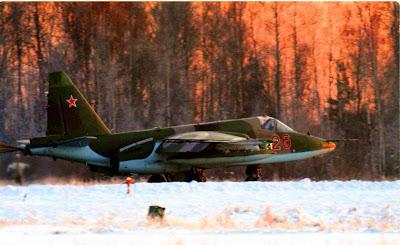 Посадка Су 25СМ, авиабаза Кубинка.