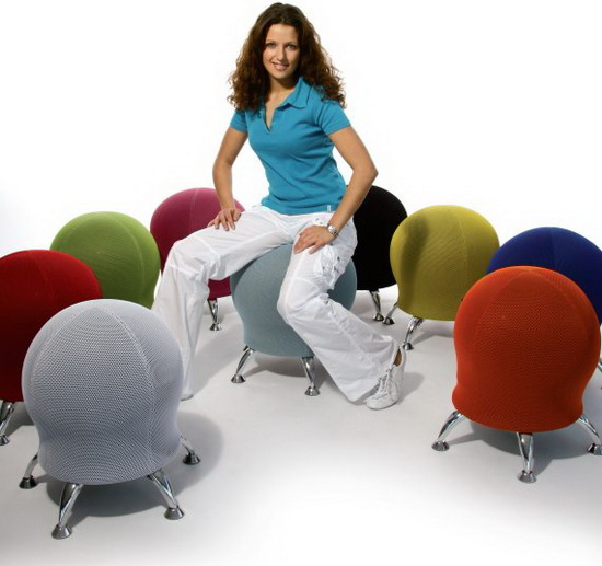 Modern Furniture Cute Ball Chair By Topstar - Ball chairs for office