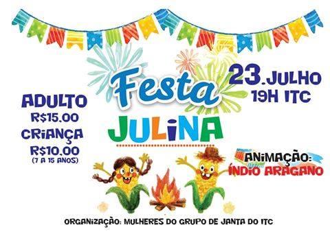 Laranjeiras do Sul:Iguaçu tênis clube realiza dia 23 sua festa Julina!!!