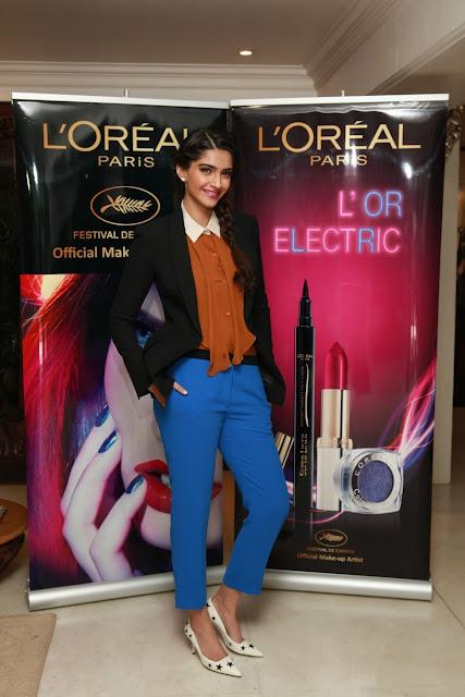 L'Oreal L'OR launch Sonam Kapoor