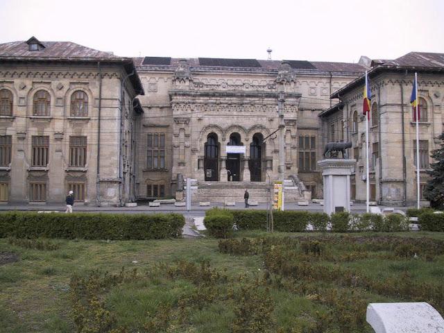 palatul universitatii galati