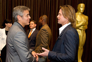 George Clooney e Brad Pitt