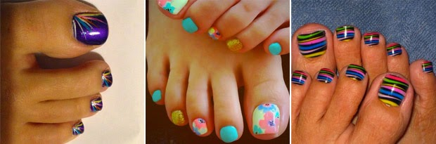 Carnaval: Ideias de nail art para os seus pés
