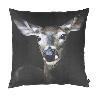 deer head photo pillow