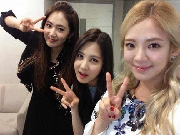 Girl's Generation: SNSD Hyoyeon's SNSD Group Photo on Instagram