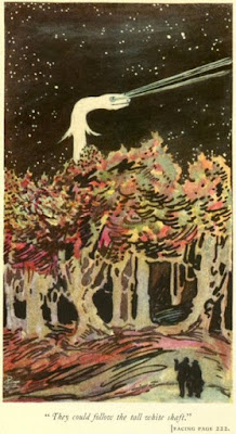 Lair of the White Worm, 1911. 1st ed. illustration by Pamela Colman Smith (also illustrator of the Rider-Waite Tarot)