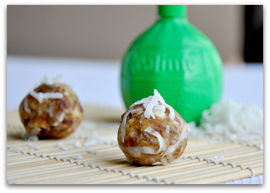 key lime larabar ball recipe