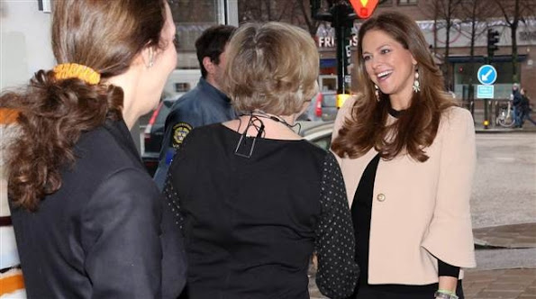 H.R.H. Princess Madeleine of Sweden attended a conference on human trafficking and sexual exploitation