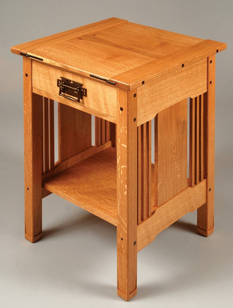 Bedside table design plans - Woodworking Projects