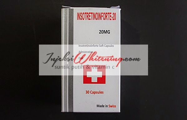 Isotretinoin Forte 20mg, Isotretinoin 20 mg, Harga Isotretinoin Forte, Isotretinoin kapsul, isotret kapsul, obat penghilang jerawat