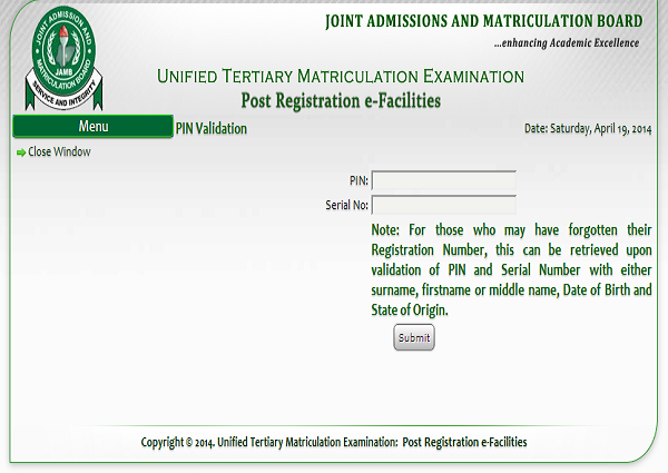 How to Check Your 2014/2015 JAMB UTME Result