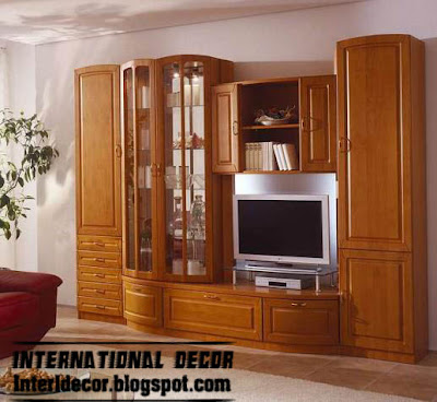 Clic TV Wall Unit Design With Drawer And Cabi S  TV Wall Units