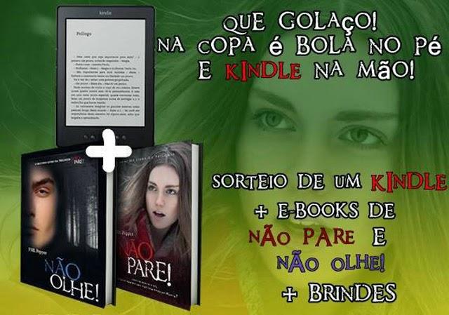 Promoção trilogia Não Pare! FML Pepper Ganhe Kindle