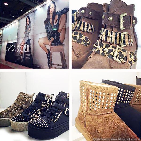 Anca Co botas, zapatillas y zapatos otoño invierno 2015.