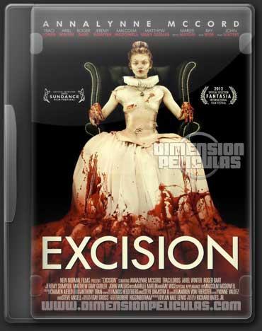 Excision (BRRip HD Inglés Subtitulada) (2012)