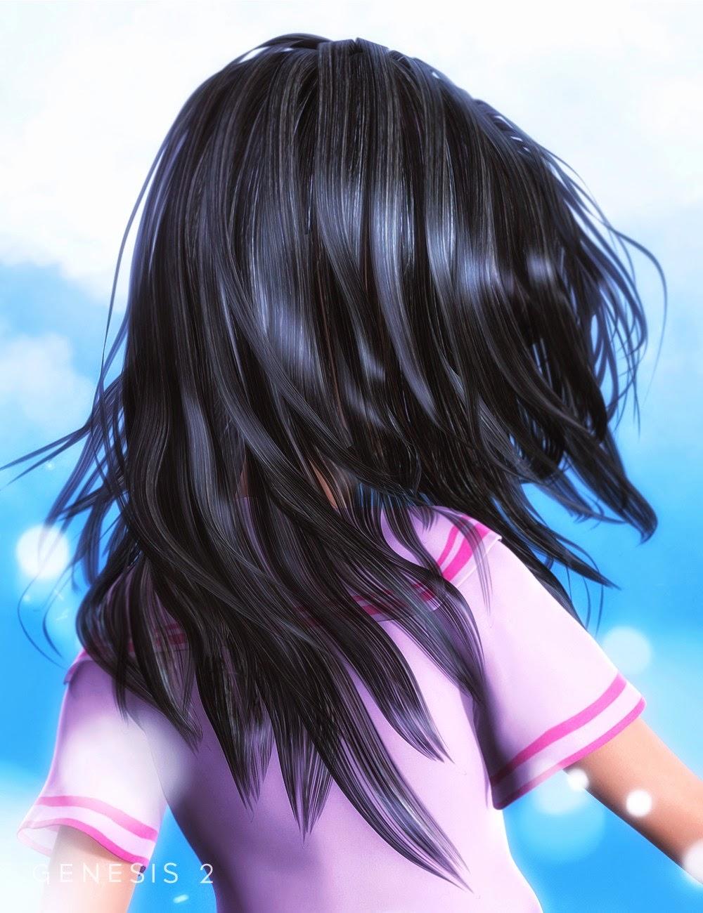 Koko cheveux pour Genesis 2 Femme