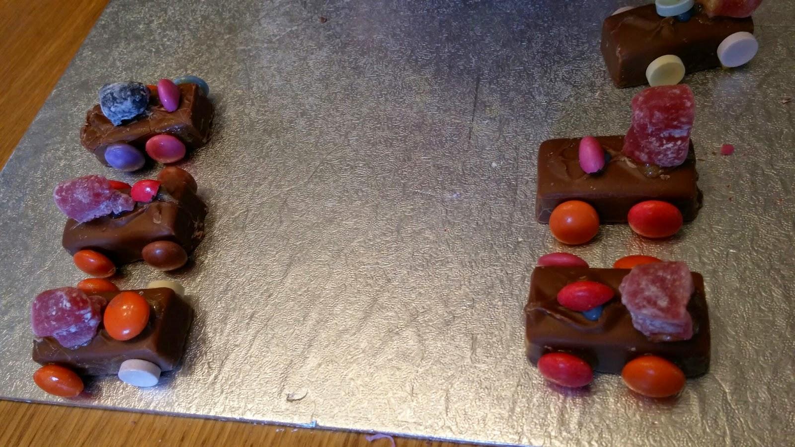 chocolate car races