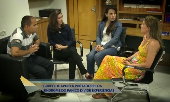 """Programa """"Encontro com Fátima Bernardes"""" visita o Grupo de apoio Sem Transtorno:"""