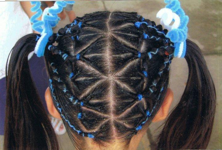 Peinados infantiles con cintas - Imagui