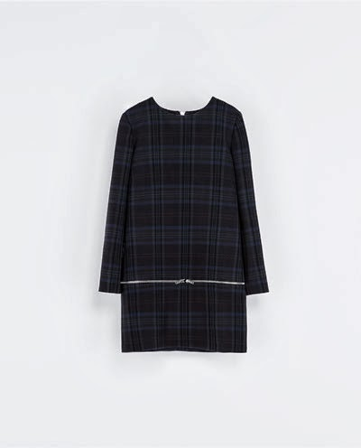 Love It : Checked Dress