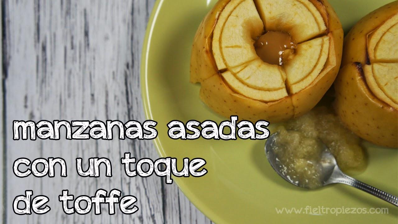 manzanas asadas con toffe