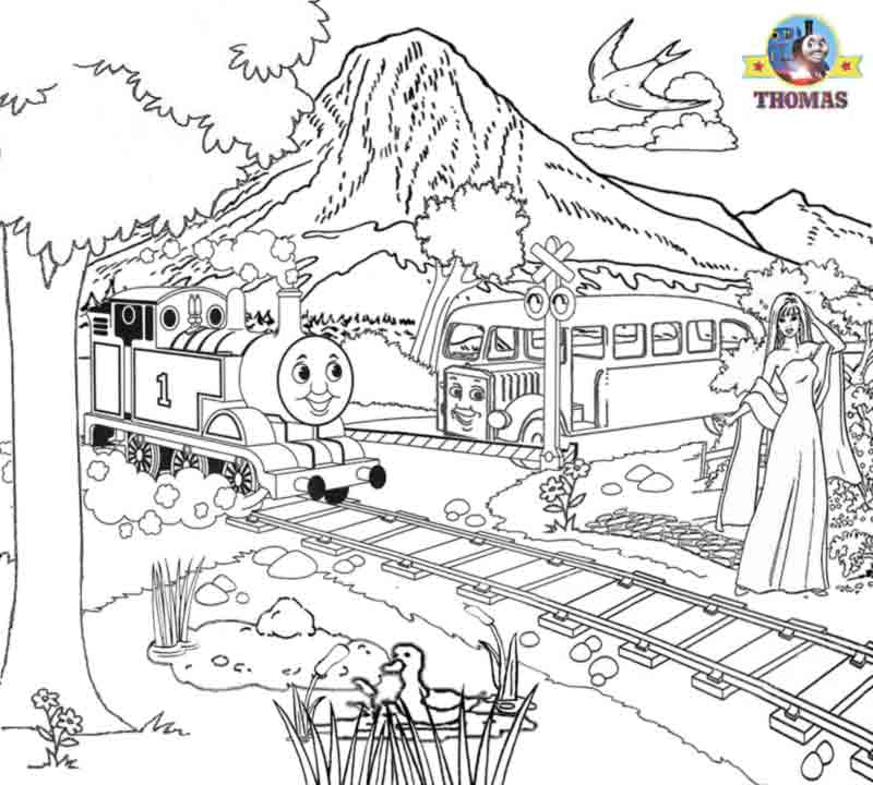 Bertie The Bus Coloring Pages