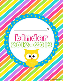 Middle grades maven reading response sheets and binder covers for Reading binder cover