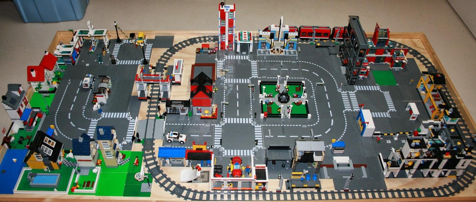 как сделать город из лего инструкция