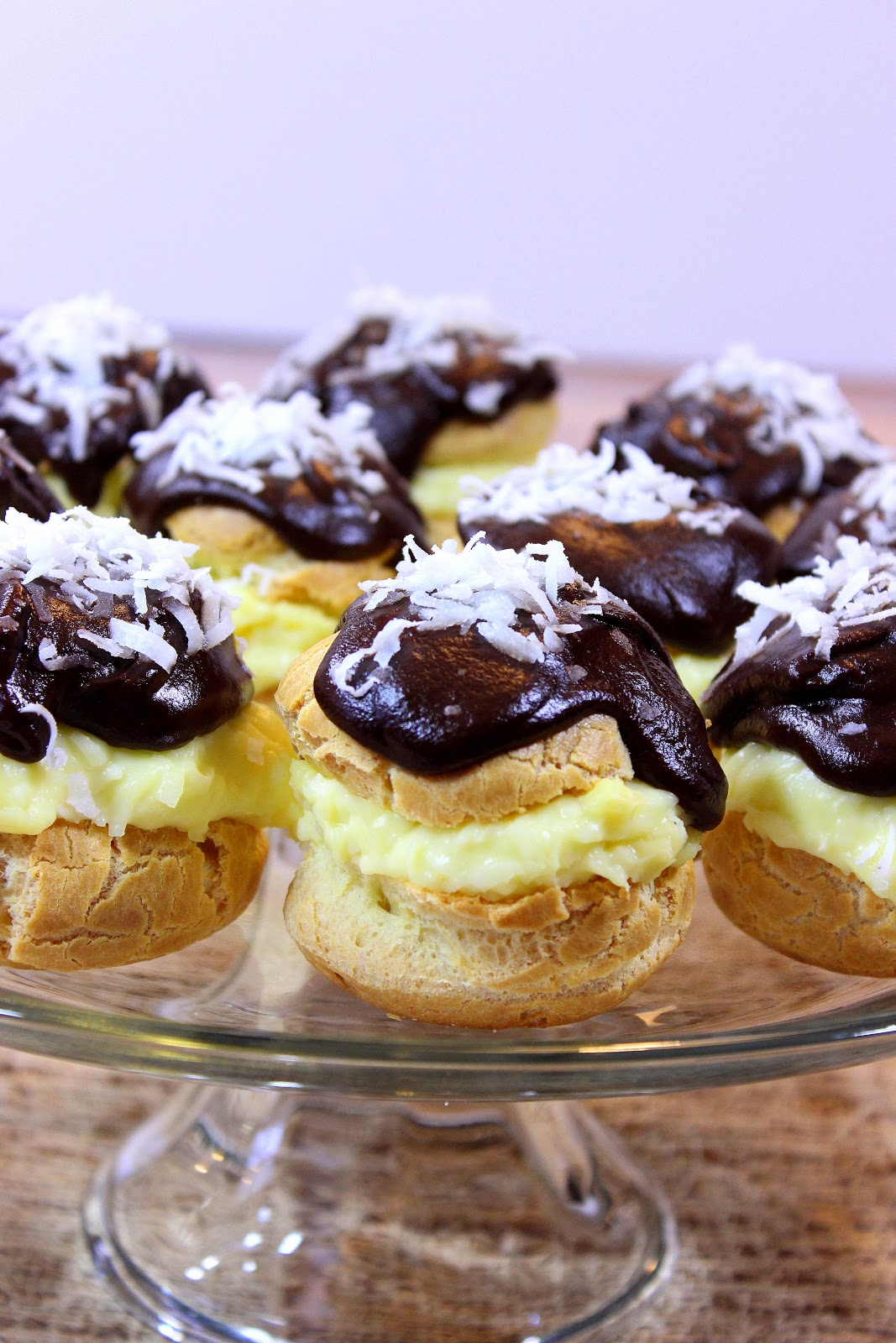 Coconut Cream Puffs Recipe - Kudos Kitchen by Renee