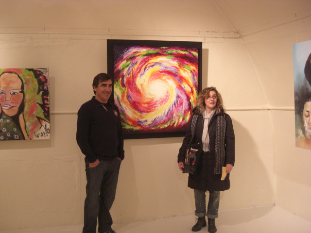 Francisco Urbano and Lucia Sandroni