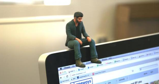 Little Sad Keanu Reeves 3D Printed