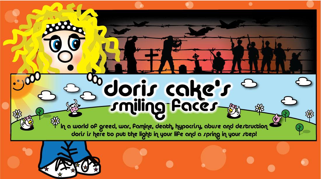 Doris Cake's Smiling Faces