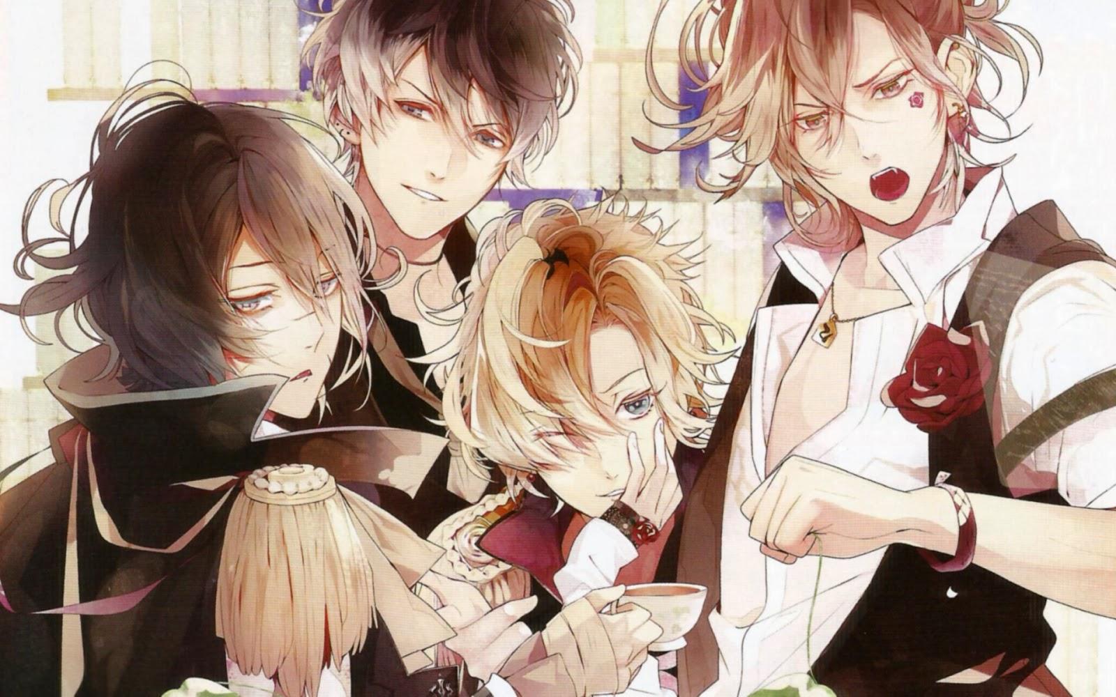 Pada Bulan September Lalu Visual Novel Diabolik Lovers Menambah 4 Karakter Baru Yaitu Dari Keluarga Mukami Ke Tersebut Adalah Ruki Kou Yuma