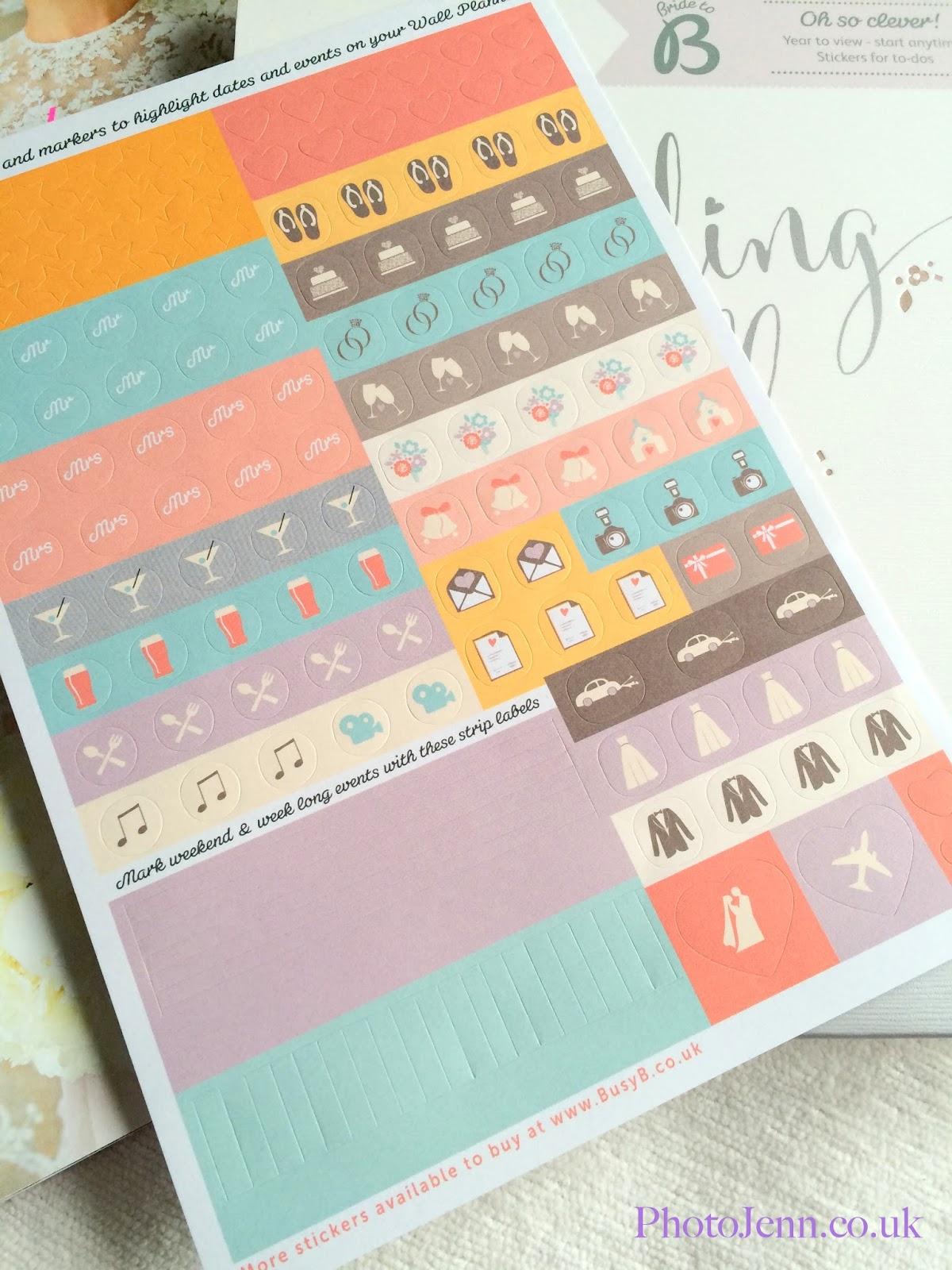 photo jenn ic busy b wedding planning busy b wedding wall planner stickers
