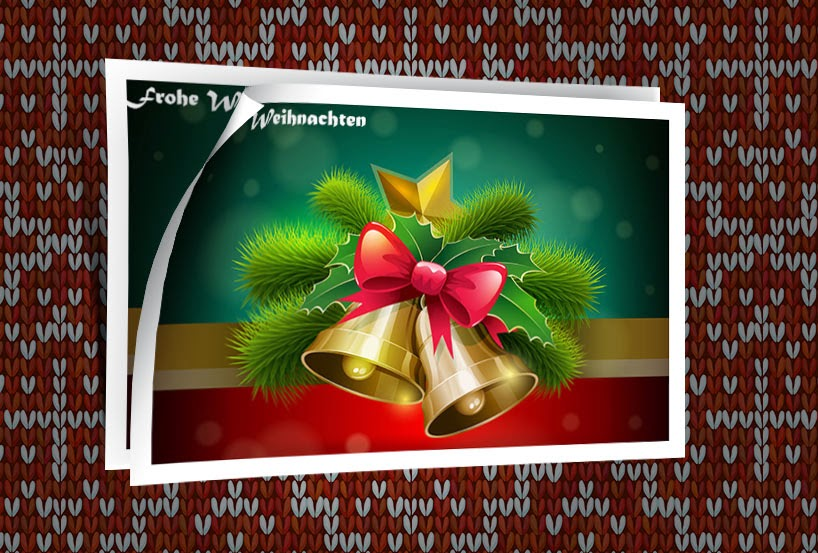 weihnachtsbilder neue weihnachtsbilder im umbl tter design. Black Bedroom Furniture Sets. Home Design Ideas