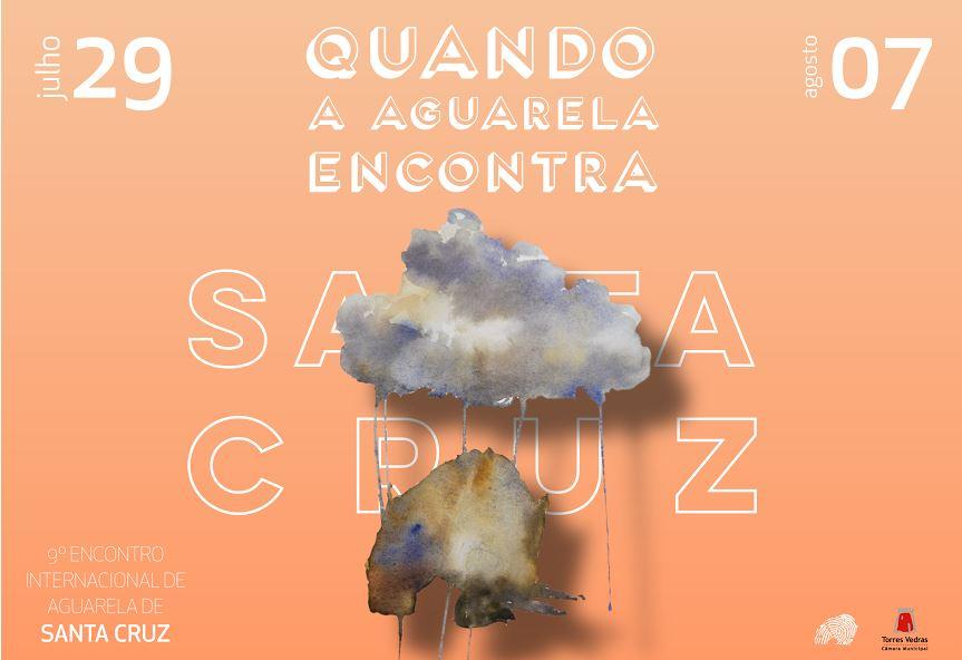 Je participe aux rencontres d'aquarelles de Santa Cruz au Portugal