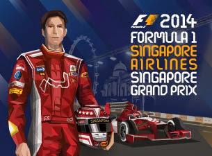 F1 Singapore Grand Prix 2014 Results