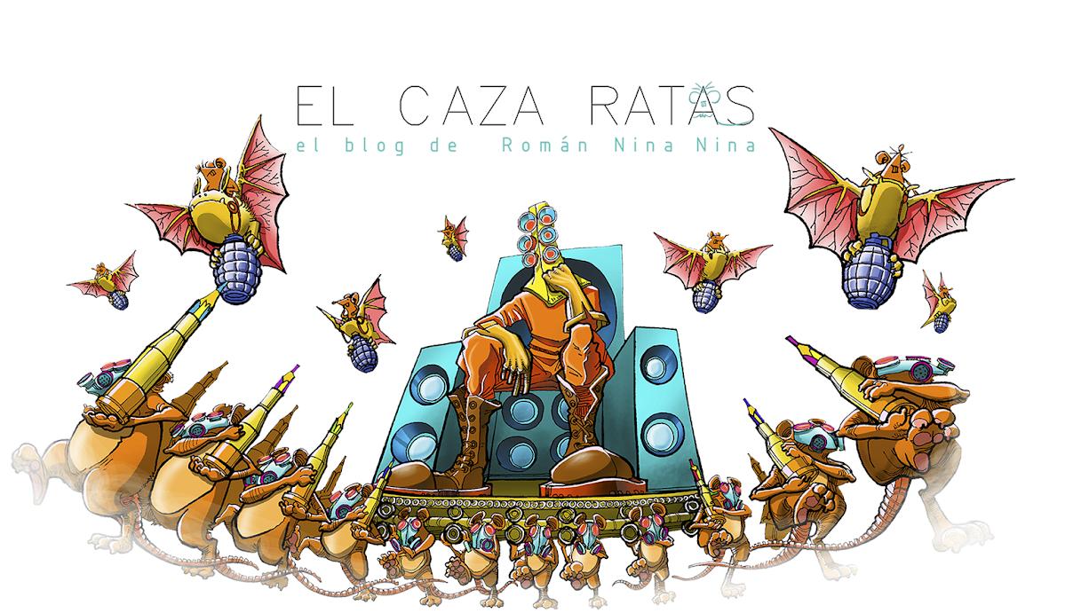 EL CAZA RATAS - artista grafico boliviano