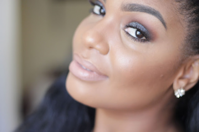 QUICK EASY SMOKEY EYES FOR BLACK WOMEN WOMAN OF COLOR
