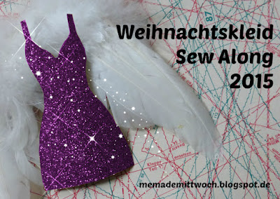 Weihnachtskleid Sew Along 2015