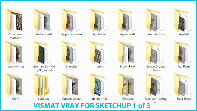 vray for sketchup vismat part #1