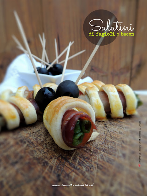 salatini fagiolini e bacon