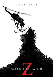 Poster Of World War Z (2013) Full Movie Hindi Dubbed Free Download Watch Online At worldfree4u.com