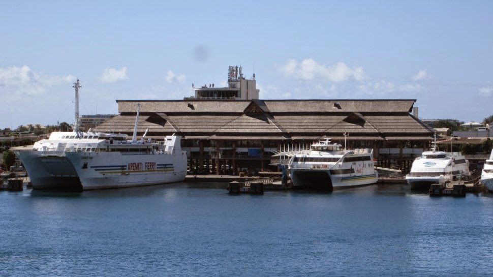 Gare maritime de Papeete Tahiti